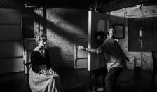 Laura California as Edith Schiele, Henry McGrath as Egon Schiele, Sonya Cunningford as Wally. BBC 2, 2018
