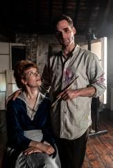 Laura Evelyn as Edith Schiele, Henry McGrath as Egon Schiele, BBC 2, 2018